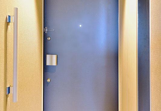 鋼製軽量ドア取付