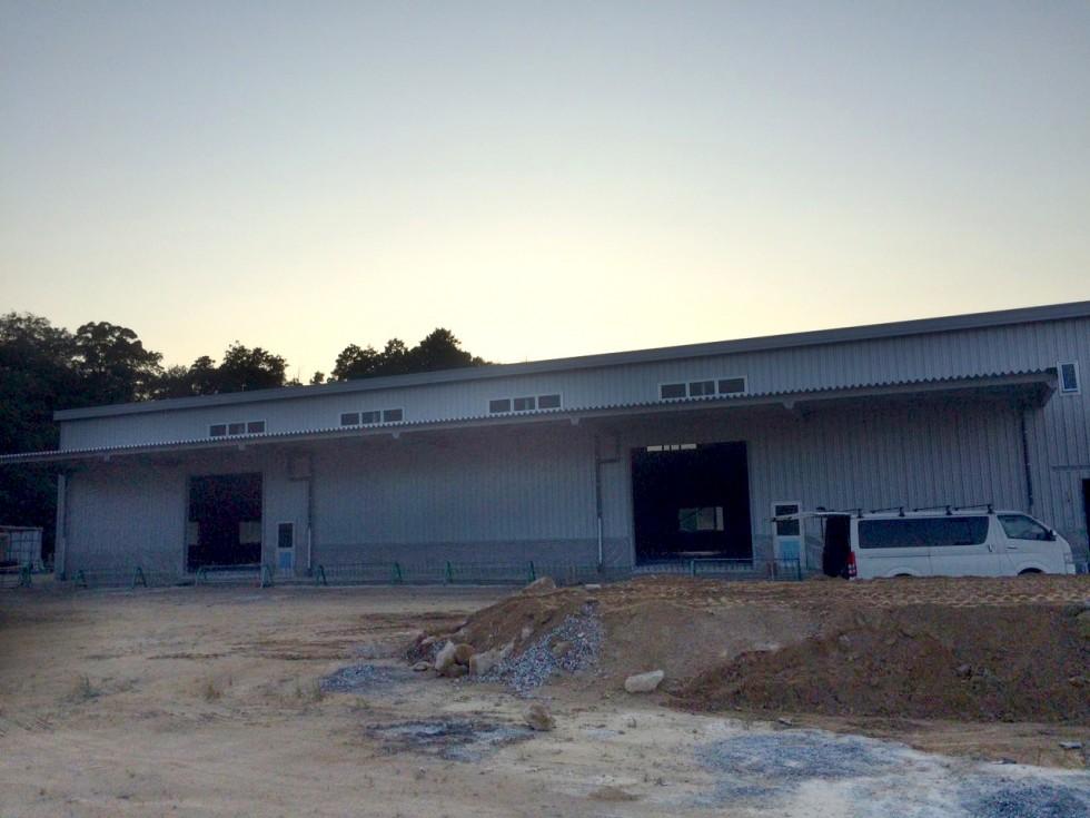 山口県 工場新築